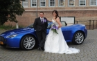 Aston Martin  V8 Trouwautos verhuur