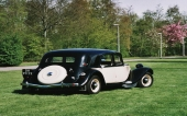 Citroen Traction Avant trouwauto verhuur