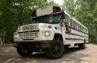 Continental Amerikaanse Schoolbus trouwbus verhuur