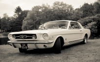 Ford Mustang Trouwauto verhuur