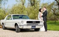 Ford Mustang Trouwauto verhuur